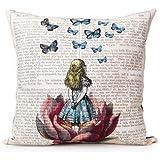Generic Unique Fashion Design Satin Fabric Throw Pillow Case Square 18 x 18 Inches Cushion Cover