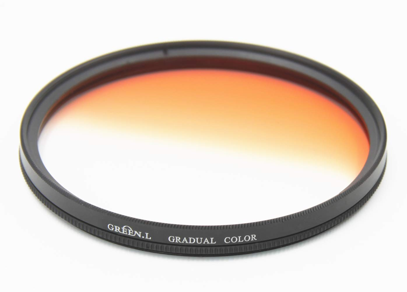 GREEN.L 62mm Graduated Colour Filters Kit Grey Orange Blue Slim Adjustable Graduated Filter with Filter Pouch