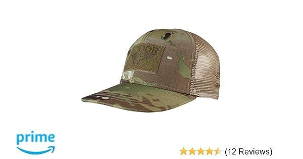 caf225a7744 CONDOR Flat Bill Trucker Hat - Multicam at Amazon Men s Clothing store