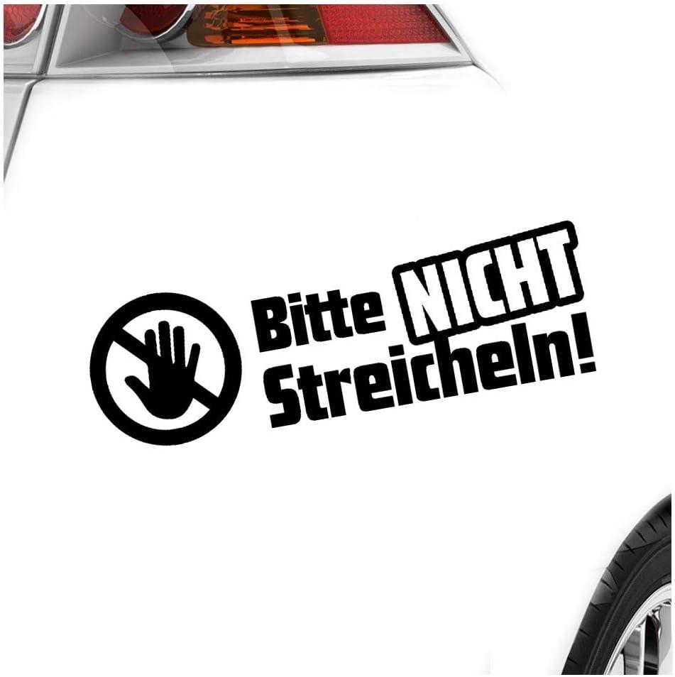 Kiwistar Aufkleber Bitte Nicht Streicheln Autoaufkleber Sticker Bomb Decals Tuning Bekleben Auto