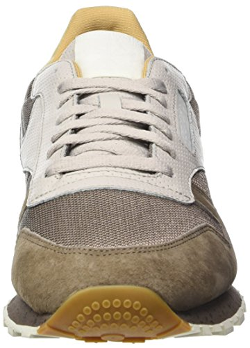 free shipping newest Reebok Men's Classic Leather Sm Low-Top Sneakers Beige (Stone Grey/Sand Stone/Urbn Gry/Beige/Chlk/Wht) in China sale online with credit card 0Ba1IXe