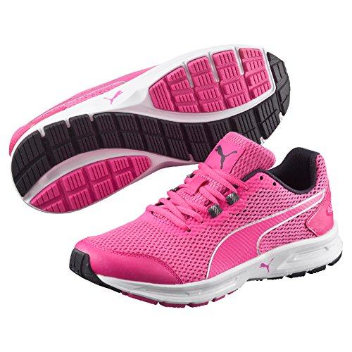 Glo Pink Puma WN's V4 03 Descendant Laufschuhe Pink Silver Damen wxBFqOaB0