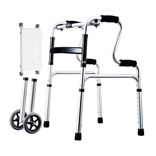 LIUSU-Walker Bastidor para Caminar Ligero/Andador Plegable ...