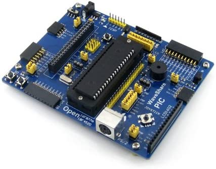 Waveshare PIC Board PIC16F877A-I//P PIC16F877A PIC16F PIC Evaluation Development Board Kit