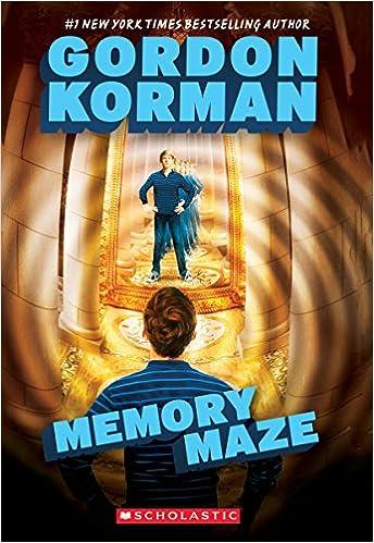 The Hypnotists Book 2: Memory Maze: Gordon Korman: 9780545503327 ...