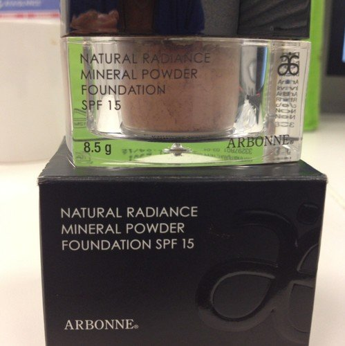 Arbonne Natural Radiance Mineral Powder Foundation - Tan ()