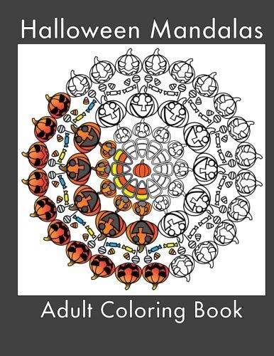 Halloween Mandalas: Adult Coloring Book]()