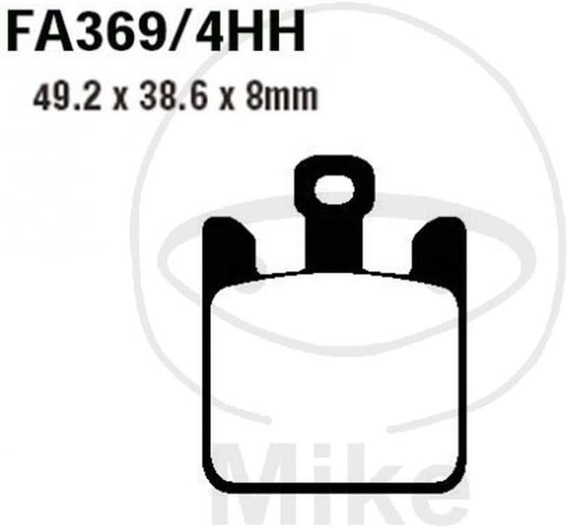 Pastillas de Freno EBC FA369//4HH 4 Piezas por Juego