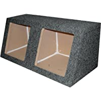 R/T Dual 15 Sealed Kicker Speaker Box for Solobaric Subs-1 MDF