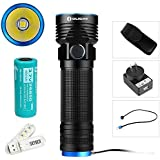 Olight R50 PRO Seeker 3200 Lumens Cree XHP70 LED Variable-output Rechargeable Side Switch LED Flashlight (Standard Set)
