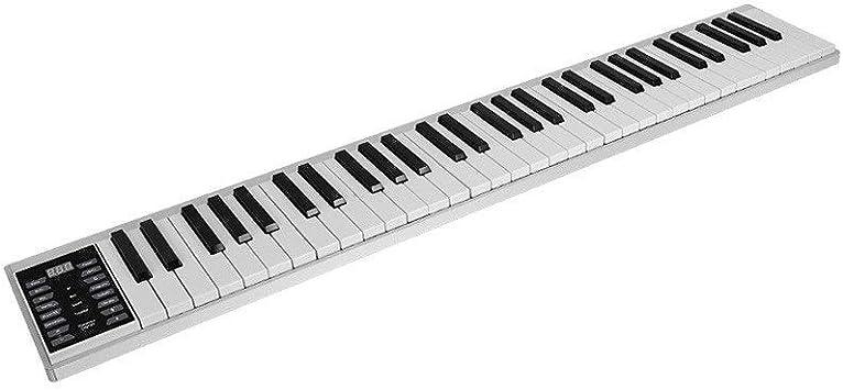 ZXL Piano Digital Portable Hand Roll Piano 61/88 Teclado ...