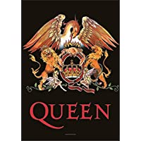 Queen Crest Large Fabric Poster/Flag 1100mm x 750mm (hr)