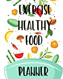 Exercise Healthy Food Planner: 90 Days to Success For Adult and Young Children Meal Plan Ketogenic Diet Weight Loss, Meal Weekly Diary Journal Writing ... Exercise Fitness & Dieting) (Volume 1)