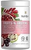 NutriDyn Fruits & Greens *Certified Organic* w/ Acai, Gogi, Mangosteen, Noni & Pomegranate Super Fruits 300 Grams (Pink Lemonade) by Nutri-Dyn