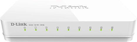 Dlink GO-SW-8G 8-port Gigabit Unmanaged Switch gosw8g