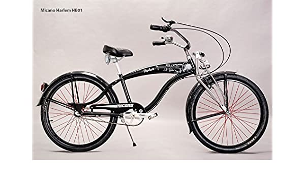 micano Harlem – Camiseta Cruiser playa bicicleta 26