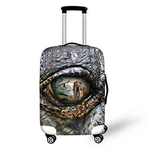 Dinosaurs Elastic Travel Accessories for 22-26 inch Luggage Protect Cover Fashion Suitcase Dust Covers by Moocooloo