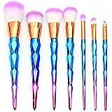 7pcs Unicorn Makeup Brushes, Professional Cosmetic Make up Brush Set