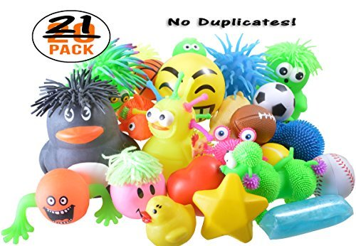 SquishyMart Stress Balls Squeeze Assortment