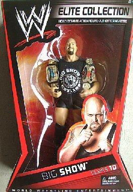 WWE Collector Elite Big Show Figure - Series #10