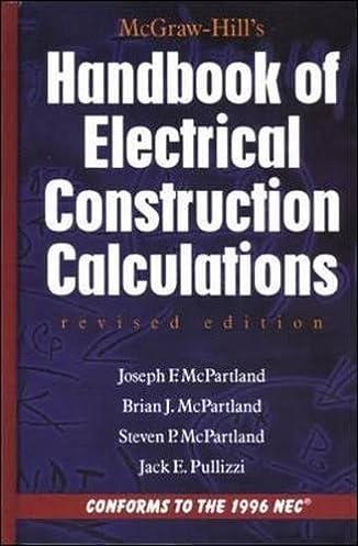 mcgraw hill handbook of electrical construction calculations rh amazon com Student Handbook School Handbook