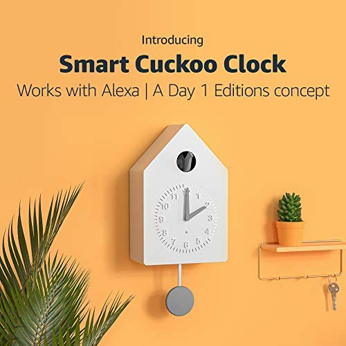 Smart Cuckoo Clock | Works with Alexa | A Day 1 Editions idea