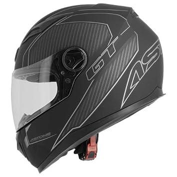 ASTONE casco integral GT2 Karbon talla negro gris, ...