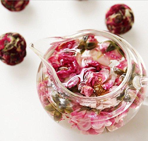 Aseus Yunnan Natural Rose Crown tea, handmade rose tea, dragon ball special big sulfur free dry rose 500g by Aseus-Ltd (Image #3)