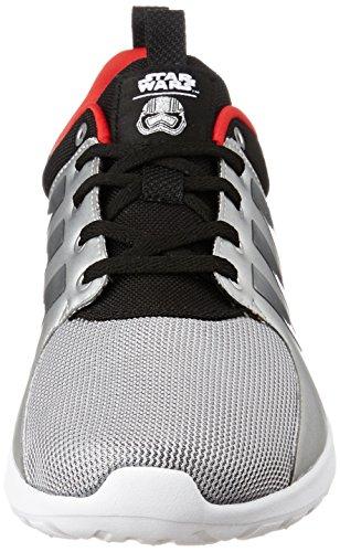 Racer 44 Adidas Lite Cloudfoam Star Uomo Plamat Wars Sneakers negbas Escarl Nero UUP7EFqwn