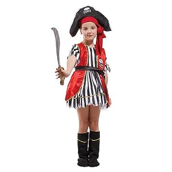 Jolg Novedad Creativa Disfraz de Pirata - Disfraz de niño, Vestido ...
