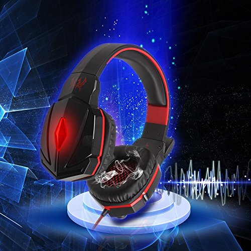 TOMTOP New EACH G4000 Stereo Gaming Headphone Headset Headband with Mic Volume Control for PC Games