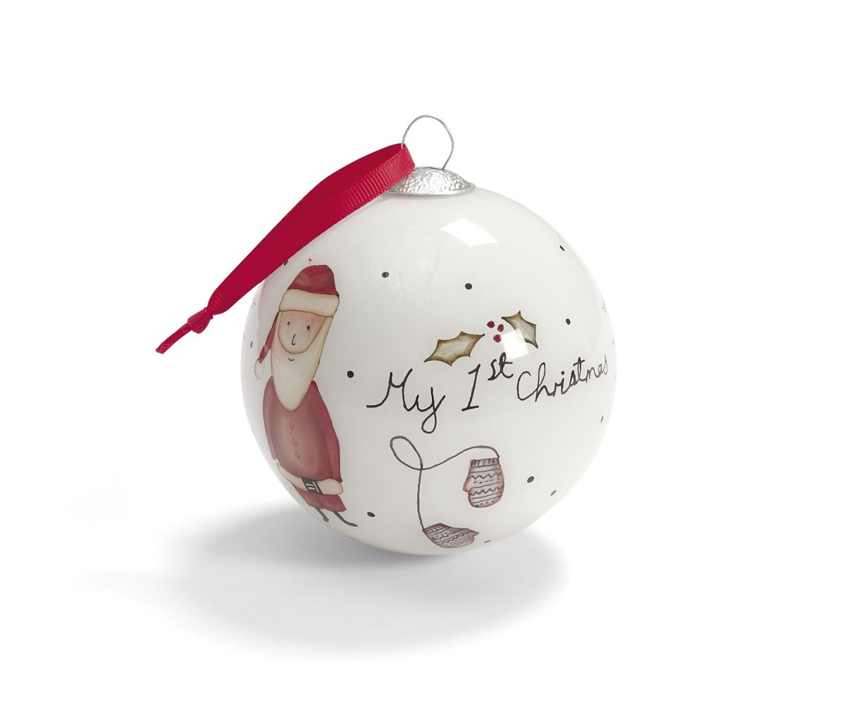 Mamas & Papas My 1st Christmas Bauble, Red 454601913