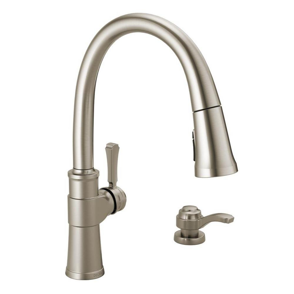 Delta Spargo 19964Z-SPSD-DST Kitchen Faucet