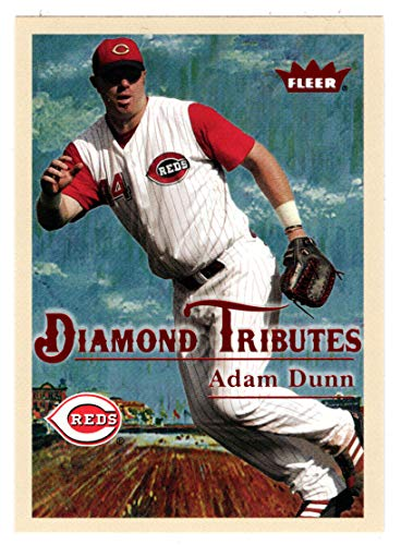 Adam Dunn (Baseball Card) 2005 Fleer Tradition Diamond Tributes # 19 NM/MT