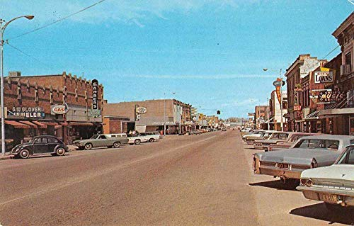 Payette Idaho Street Scene Business District Vintage Postcard JA4742081