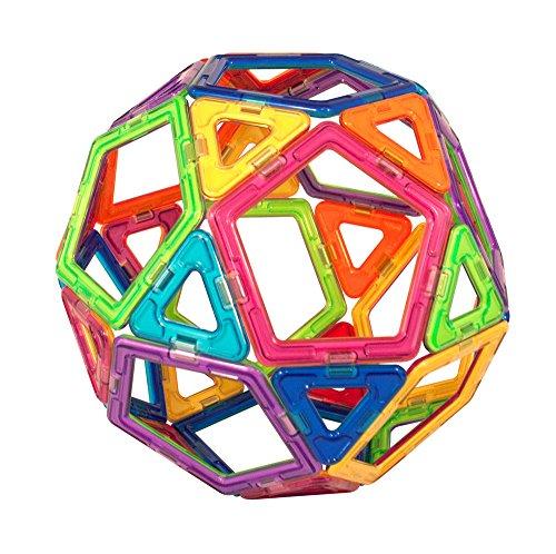 51B4%2B7e%2ByOL - Magformers Smart Set (144-piece ), Deluxe Building Set. magnetic building blocks, educational magnetic tiles, magnetic building STEM toy set