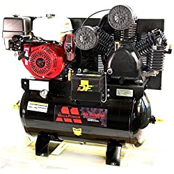 13 HP Honda GX390 Truck Mount Air Compressor 30 Gallon w Battery Tray MP-13030G