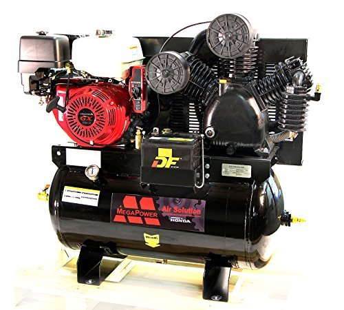 13 HP Honda GX390 Truck Mount Air Compressor 30 Gallon w Battery Tray MP-13030G