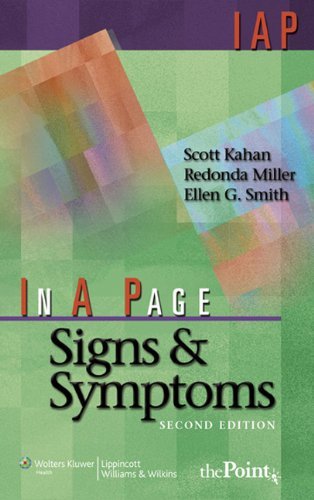 In A Page Signs & Symptoms (In a Page Series)