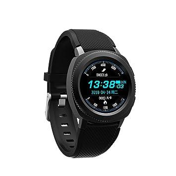 WShijie Reloj inteligente para natación, ejercicio, frecuencia ...