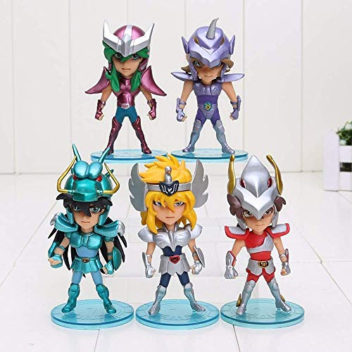(Anime Figures Saint Seiya Myth Cloth Shiryu Shun Hyoga Jabu Seiya Dolls Model Toys)