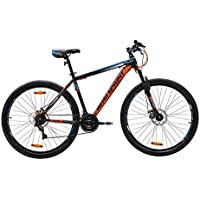 Hero Kixs 29t 21 Speed Steel Mountain Bicycle (Black/Orange)