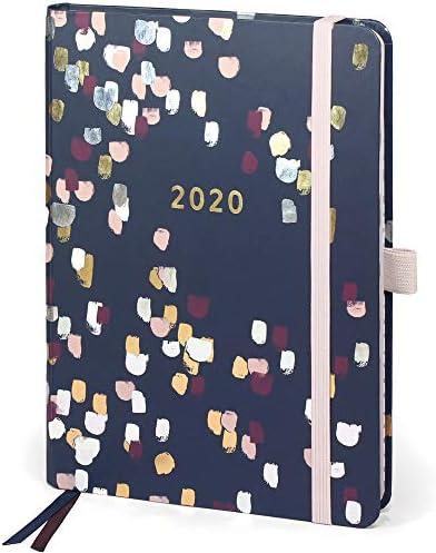 Boxclever Press Perfect Year Kalender 2020 A5 mit Tabs (AUF ENGLISCH). Terminplaner 2020 von Januar - Dezember 2020. Toller Wochenplaner mit Monatsübersichten, Budgetseiten, Einkaufslisten & Stickern