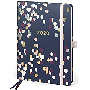 Boxclever-Press-Perfect-Year-2020-Diary-with-Tabs-Stunning-A5-Diary-2020-from-January-December-2020-Planner-2020-with-Monthly-Overviews-Budget-Planning-Pages-Perforated-Shopping-Lists-More
