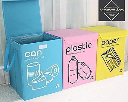 Cozymom Deco] Bolsa de Reciclaje separadas Papelera de ...