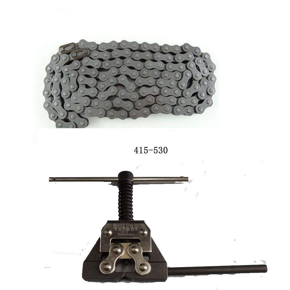chain breaker 415H-110L Chain/&Chain Breaker for 49cc-80cc Motorized bicycle Bike Engine Parts