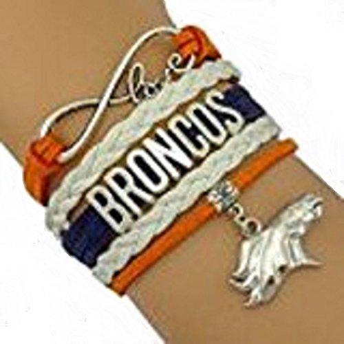 Denver Broncos Handmade Football Sports Team Bracelet by GotToHaveThis