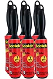 Scotch 836mr-15 Mini Lint Roller, 15 Sheets 3 in X 3.9 Ft, (Pack of 6)