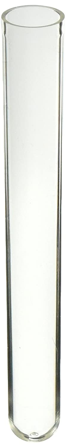 Labcon SuperClear 3425-355-000 Polystyrene Culture Tube without Caps, Clear, 13mm Diameter x 100mm Length, 8ml Capacity, Sterile (Bag of 125, Case of 1000) Thomas Scientific