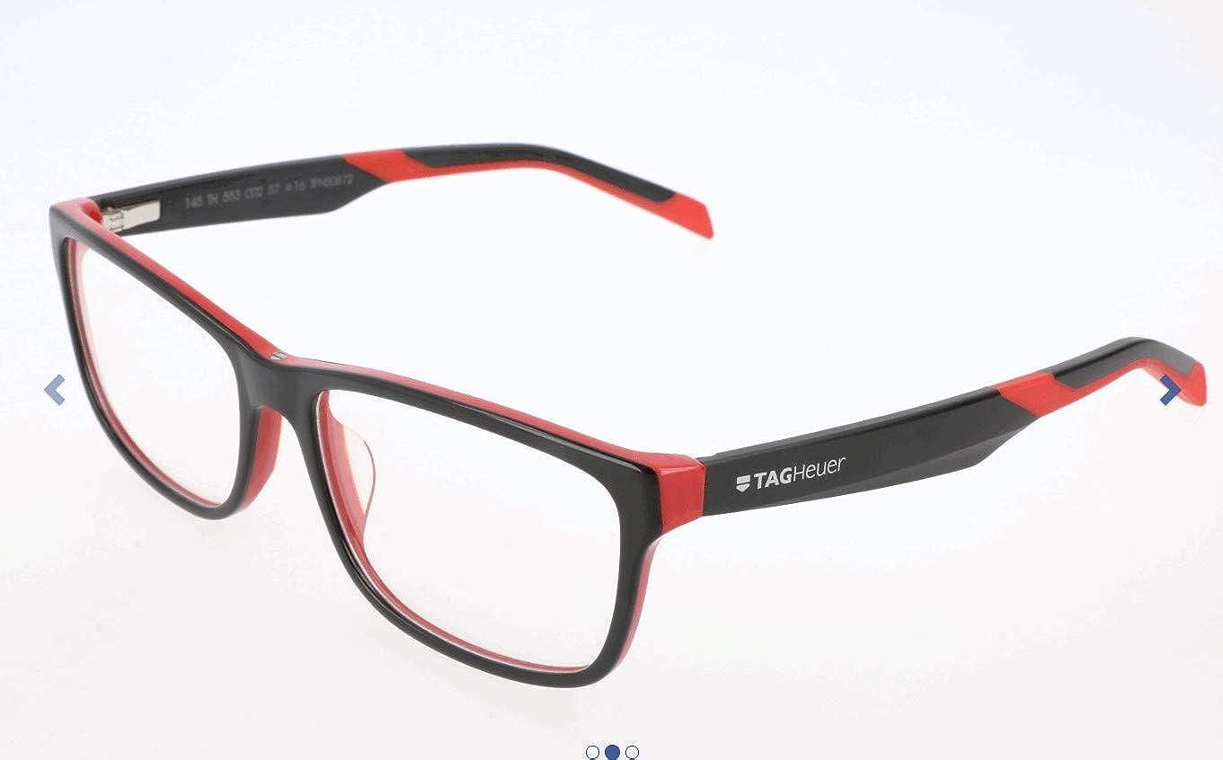 TAG HEUER Unisex Adults Brillengestelle TH-0553 Optical Frames Multicolour Mehrfarbig 57.0